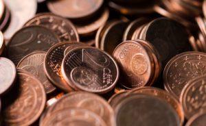 Kleingeld von Studienkredit